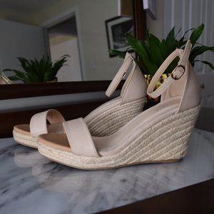 Catherine Malandrino Nude Espadrille Sandals-Sz10